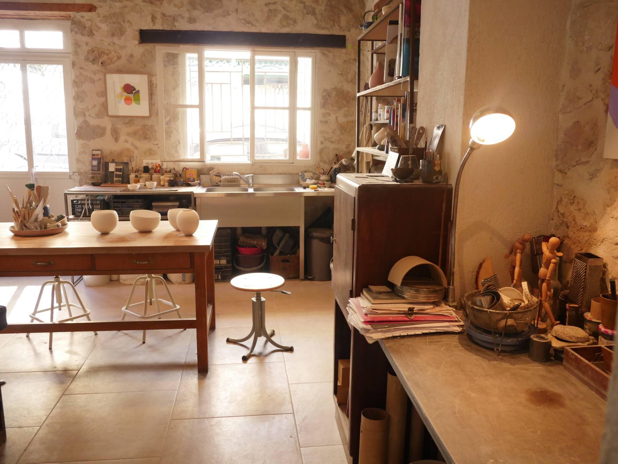 Atelier de céramique à Nice