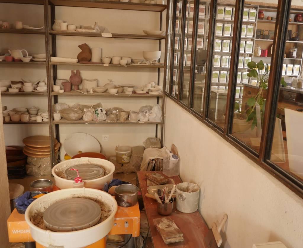Atelier de tournage céramique à Nice