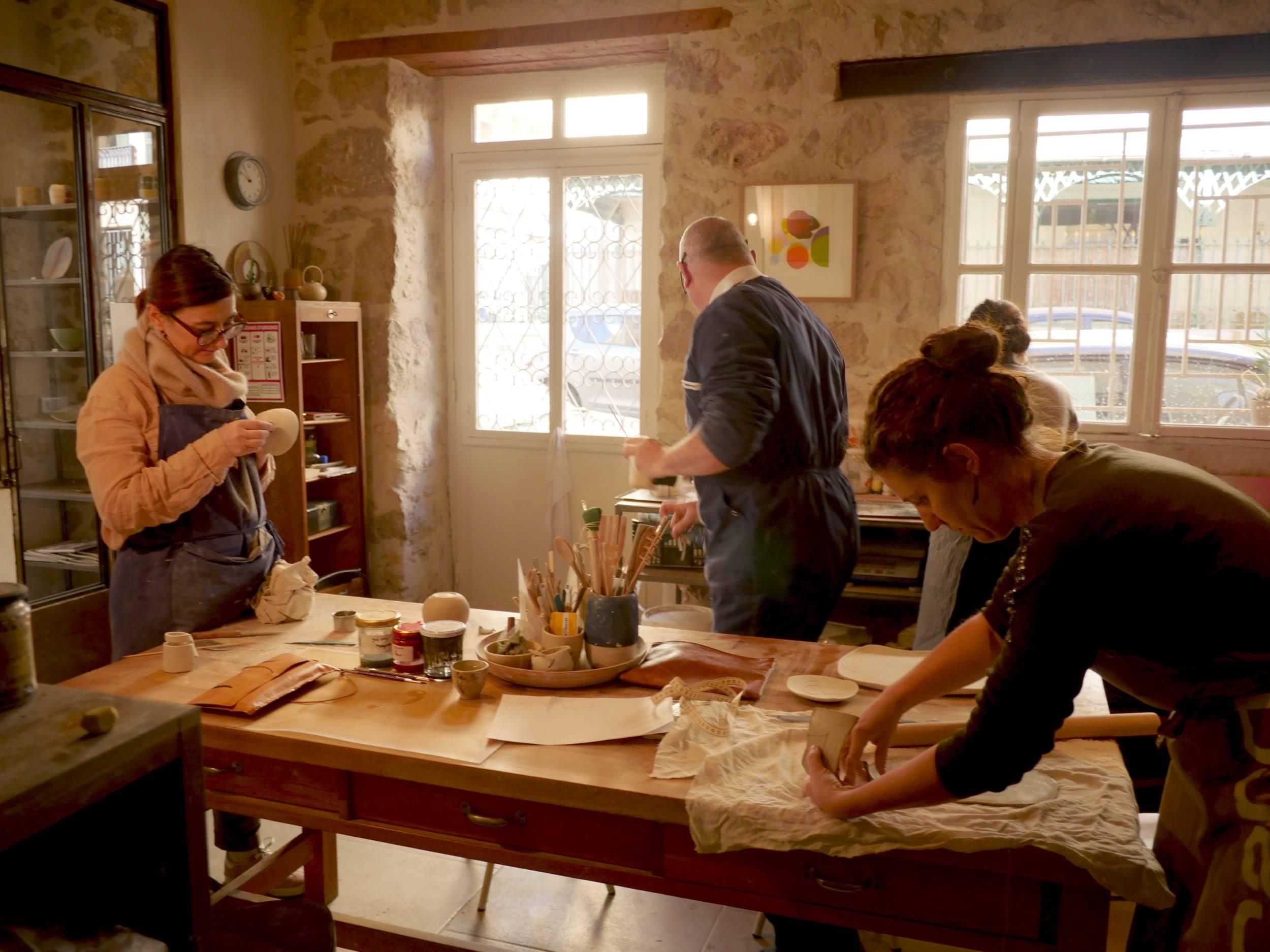 cours de poterie et céramique à Nice
