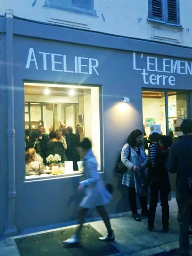 Evénements artistiques à l'atelier l'élément terre à Nice