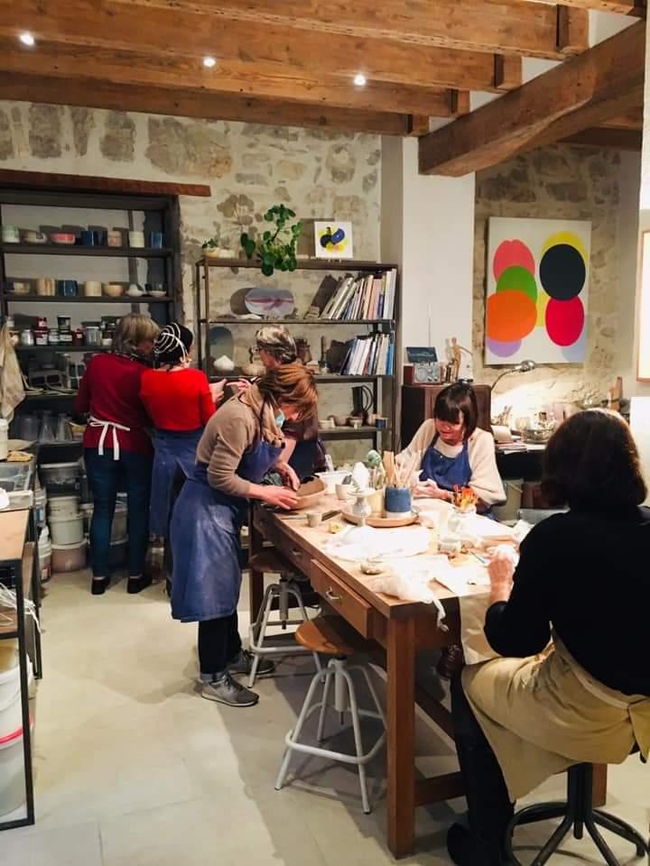 cours d'initiation à la poterie céramique Nice
