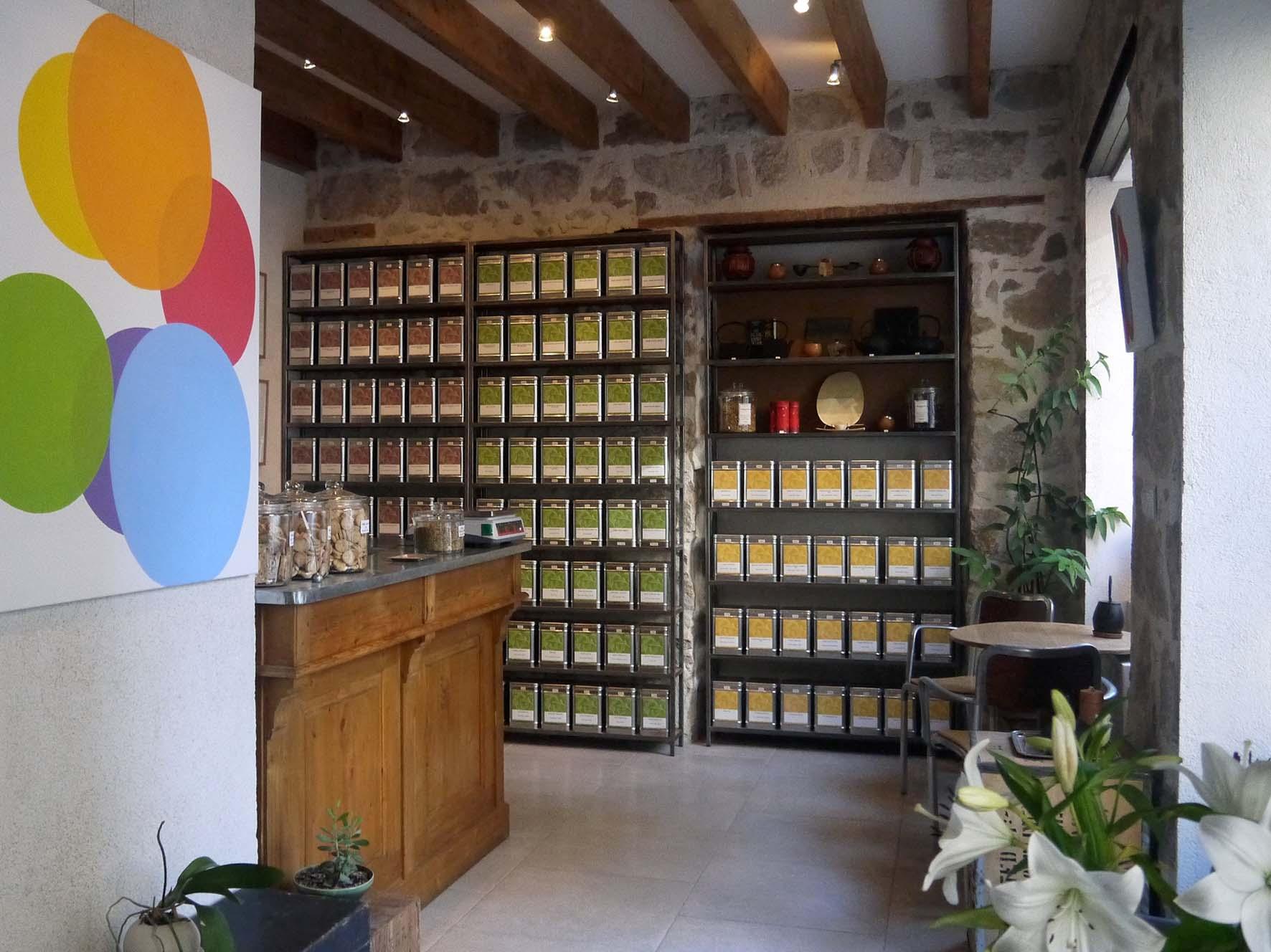 Le salon de thé Terres et Thés