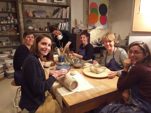 Cours de poterie céramique à Nice