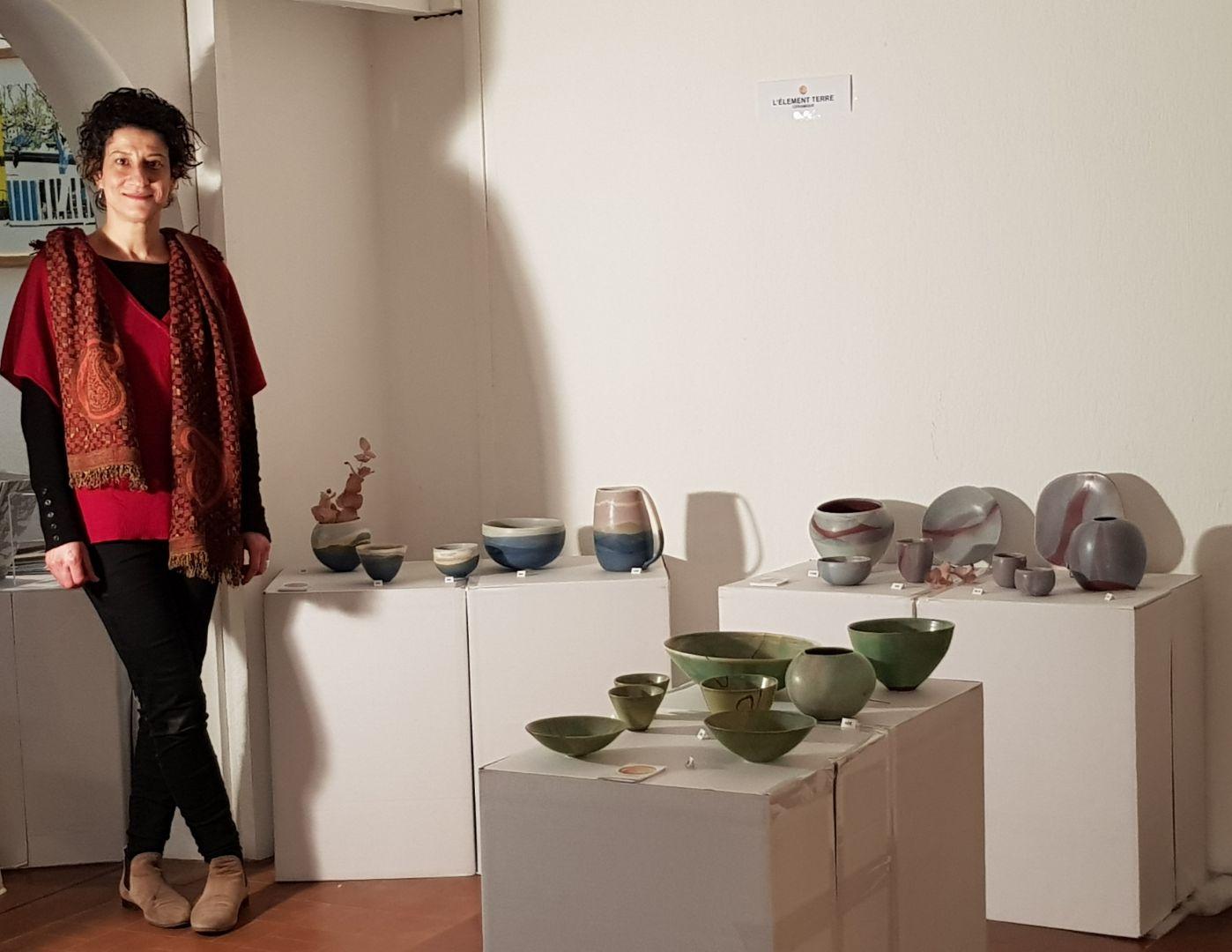 les créations céramiques de l'élément terres réalisées par mounia guenatri