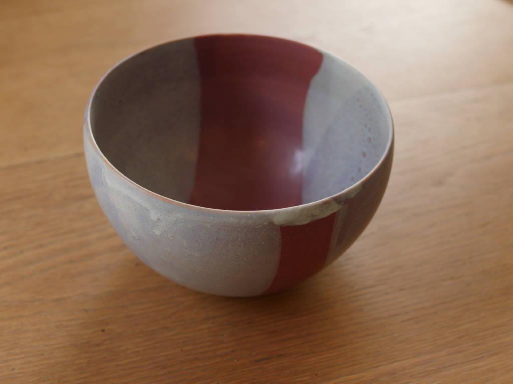 Grand plat saladier en céramique fait main