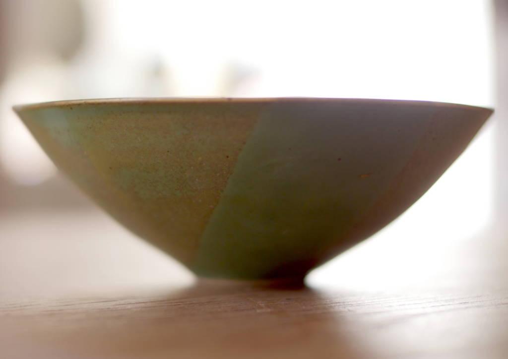 Grande coupe saladier en grès, céramique faite main