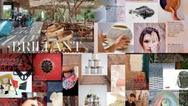 Une très belle parution presse sur Marie Claire Maison Méditerranée du mois de décembre !